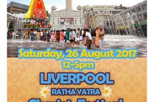 Liverpool Ratha Yatra Chariot Festival