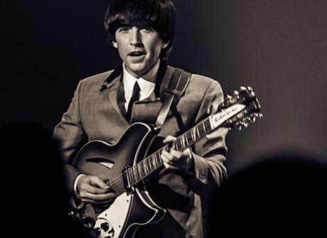 Liverpudlian Gavin Pring Has Been Performing As George Harrison In Beatle Tribute Acts Now For Over 15 Years
