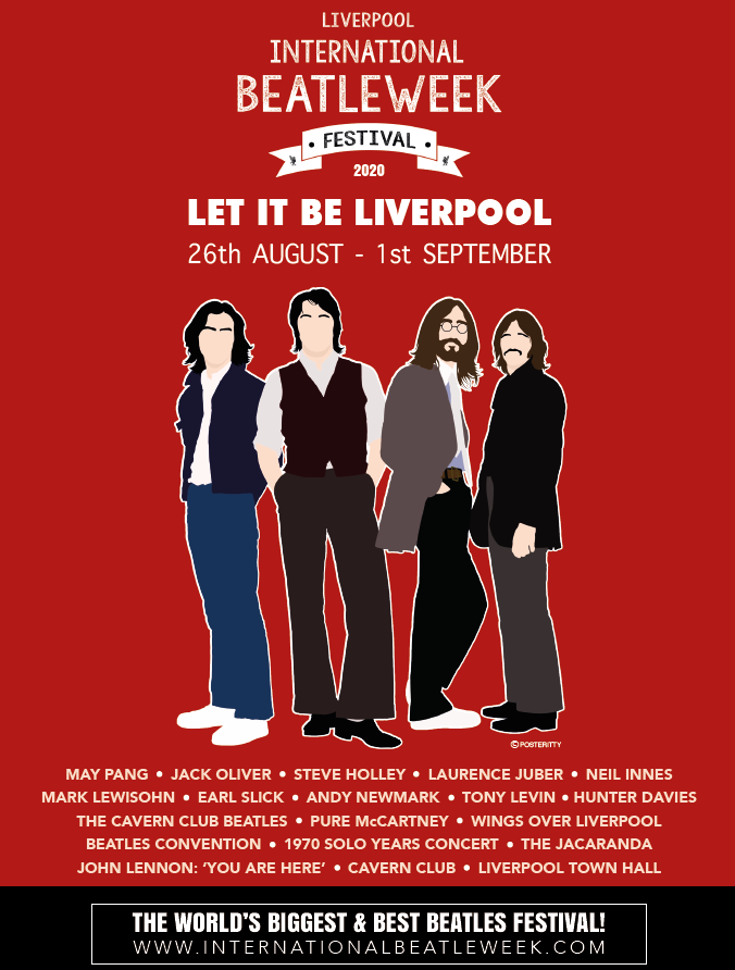 The Beatles Polska: International Beatleweek Festival 2020 w Liverpoolu