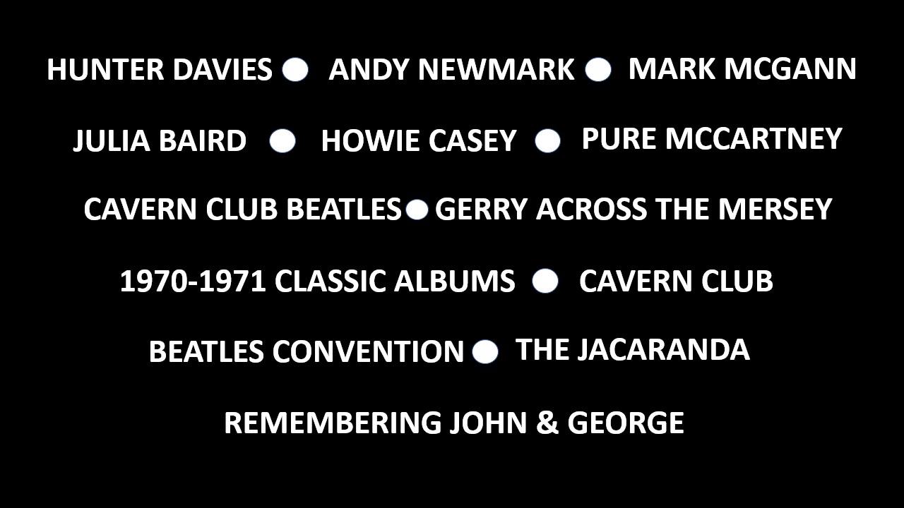 Beatleweek Lineup